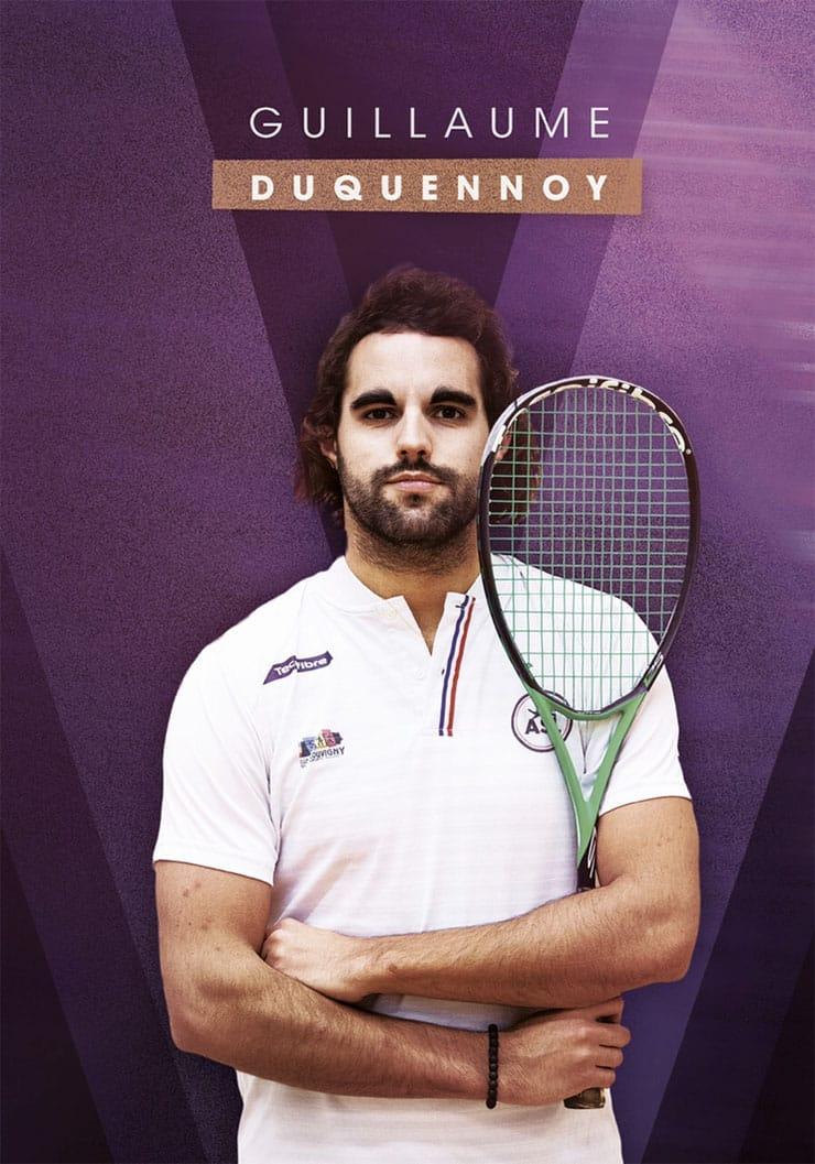 Guillaume Duquennoy - Moniteur Squash